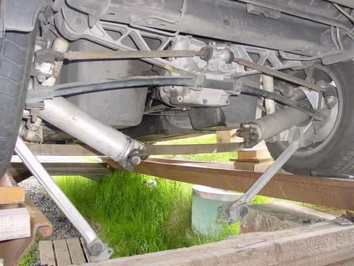 Dana 44 rear axle